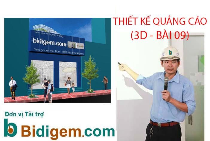 THIET KE 3D MAX BANG HIEU 3D QUANG CAO BAI 9