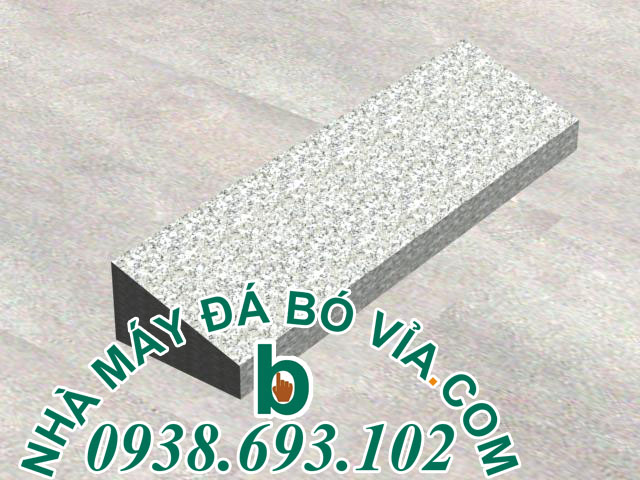 đá bó vỉa trắng suối lau 145 105
