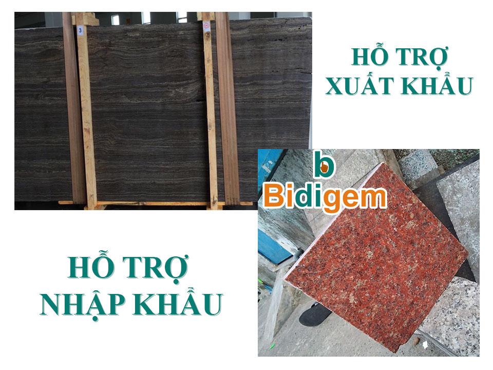 Hỗ trợ nhập đá hoa cuong granite từ Ấn độ, Brazil, Anh quốc, Trung quốc...