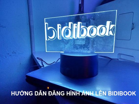 Hướng dẫn biên tập hình ảnh trên bidibook