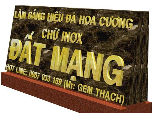 bang hieu da hoa cuong dat mang chu inox vang