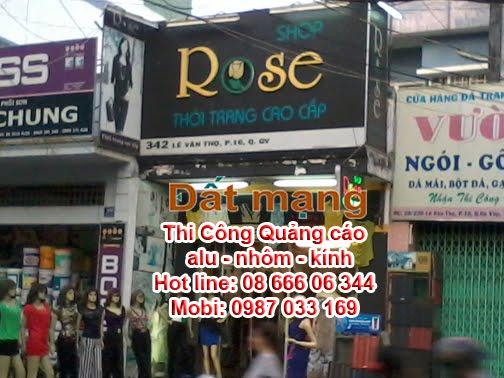 lam bang chu noi dep shop